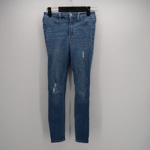 Hollister High Rise Jean Leggings Size 26